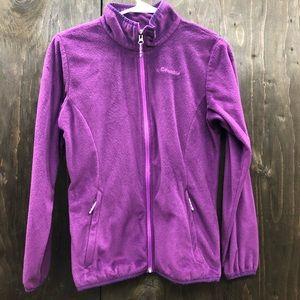 Purple Columbia fleece